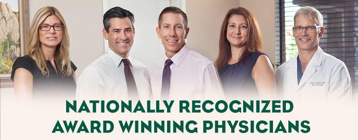 award winning cancer doctors
